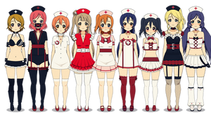 .: [Exports] Nurse Outfits :.