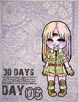 .: 30Days Adoptable Challenge - Day 06 {Closed} :.
