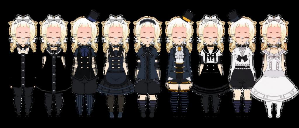 .: [Exports] B/W Lolita Fashion :.