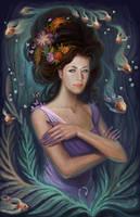 Fantasy portrait by Lyuleo