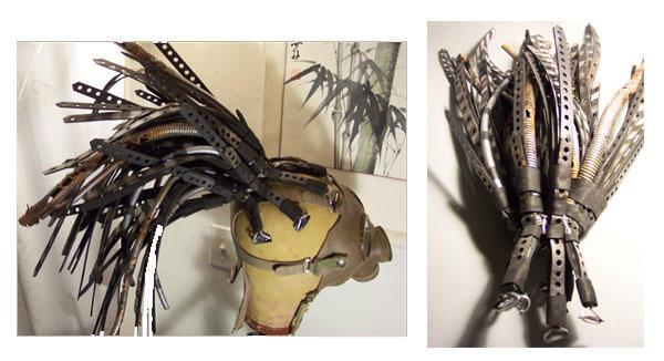 Steampunk Hair Falls - Lex by Anachronaut