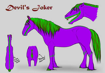 Devil's Joker Ref Sheet by NuuMoo