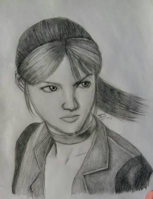 Claire Redfield in RE cvx by BakGuiy
