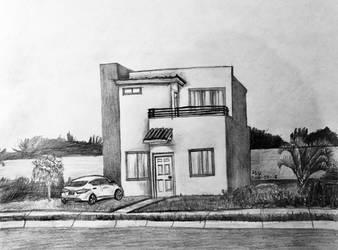 Modern house by BakGuiy