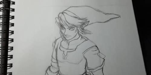 Link twilight princess wip 01 by BakGuiy