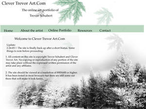 Clever Trevor Site Layout