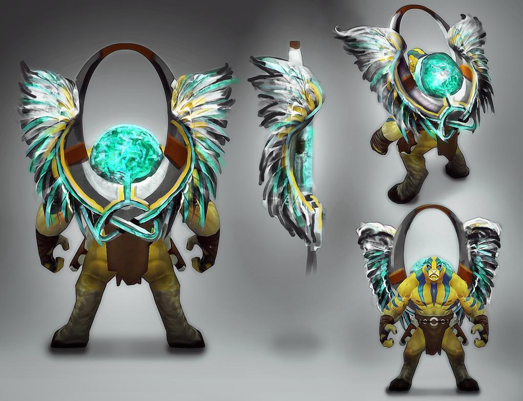 Elder Titan Totem Concept by mjtrickster