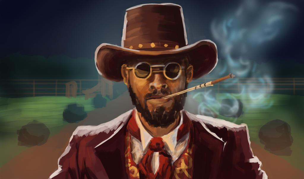 Django quick color study by mjtrickster