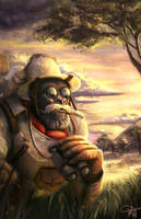 Safari Winston by mjtrickster