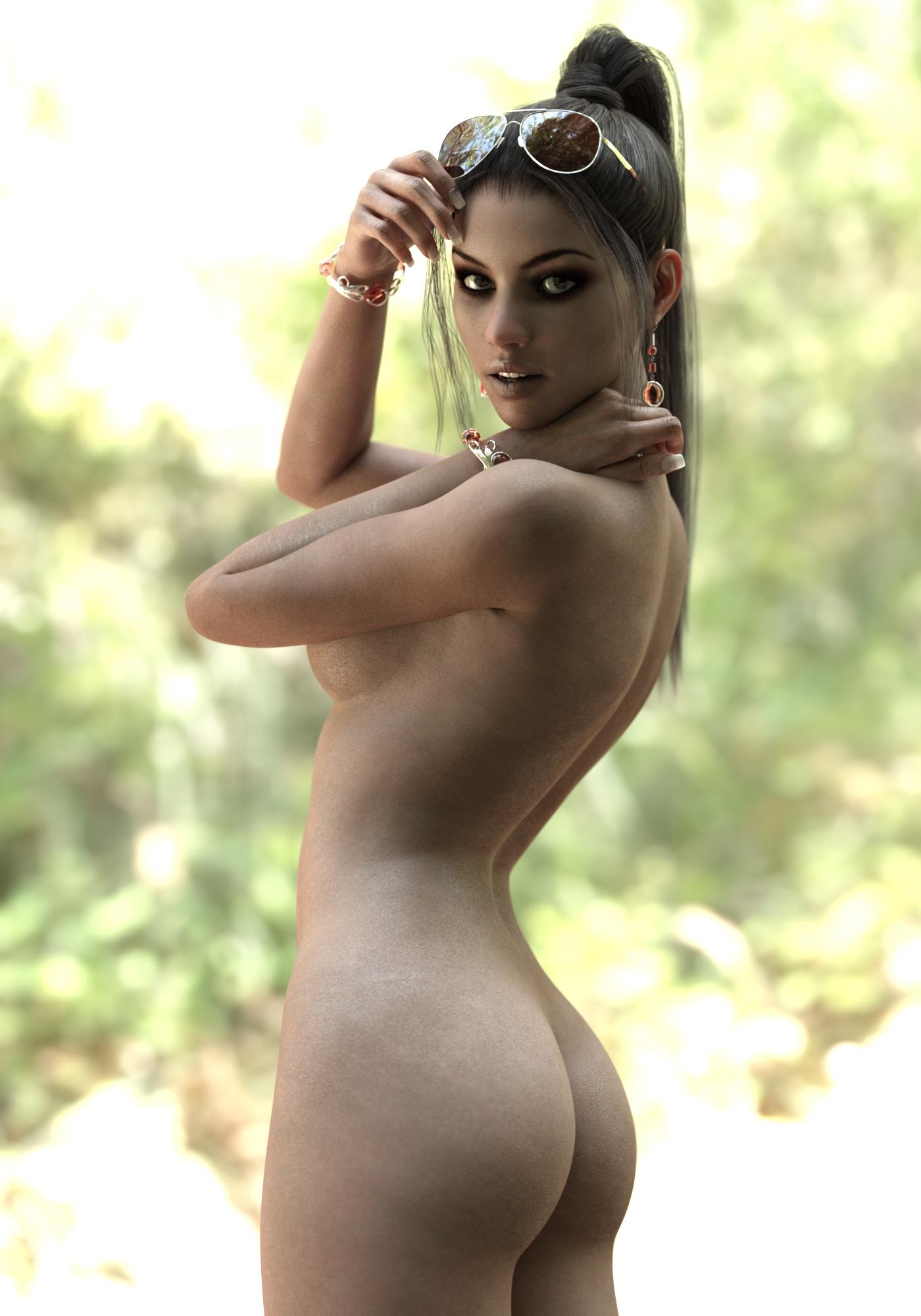 Nude Cgi Woman 40