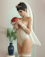 Rebeca sexy girlfriend by BestmanPi