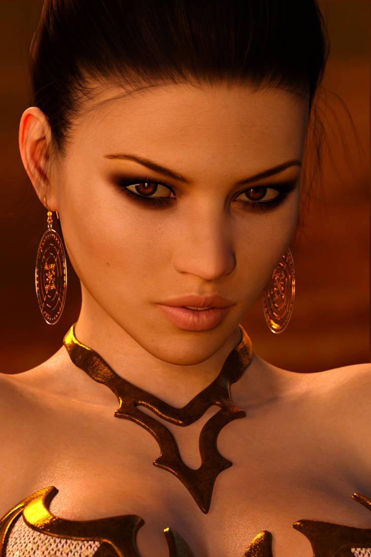 Rebeca Portrait 221