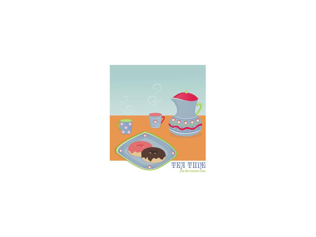 tea time by JDe