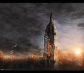 New York Is Burning by Secr3tDesign