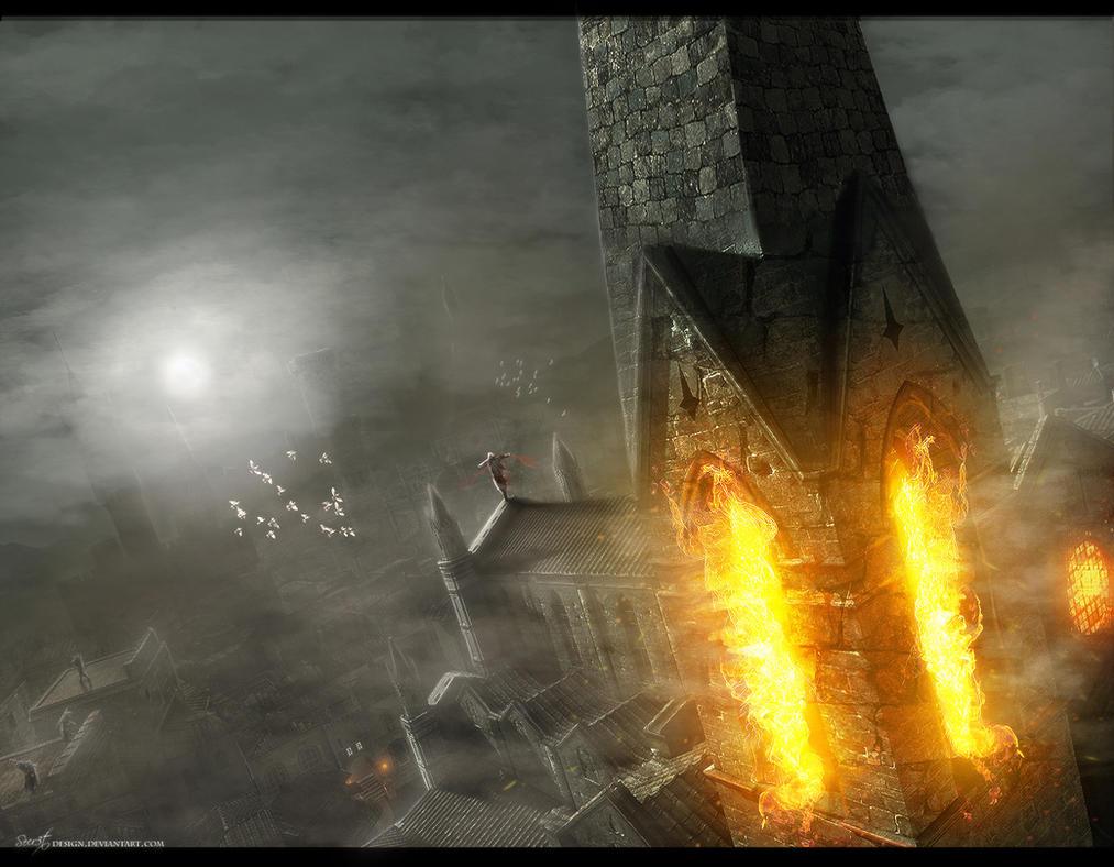 Run Run Assassin Creed by Secr3tDesign