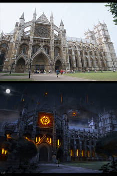 Before and After Darkness Castle