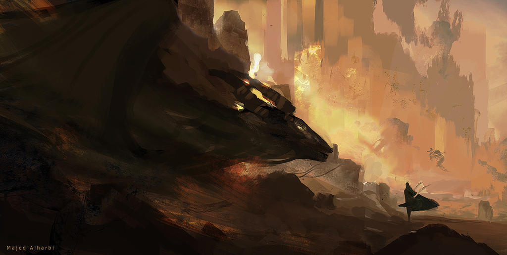 Meet the dragon by Secr3tDesign