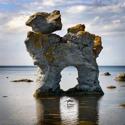 Gamle Hamn, Gotland by Basement127