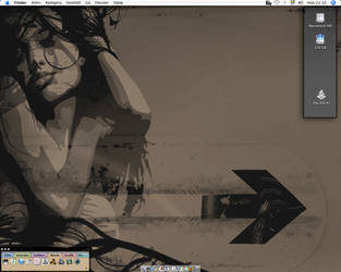 Skrivbord by Basement127