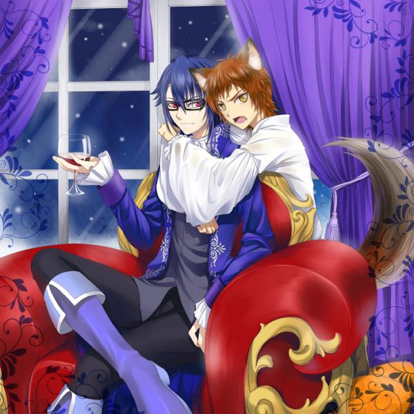 Vampire  and Werewolf by kenwntanabata