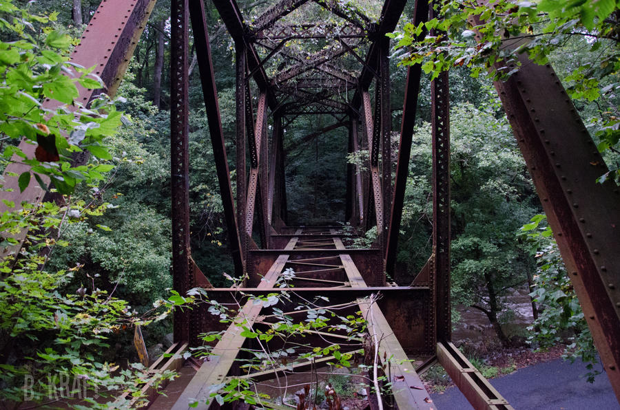 Lost Bridge by Motormenace