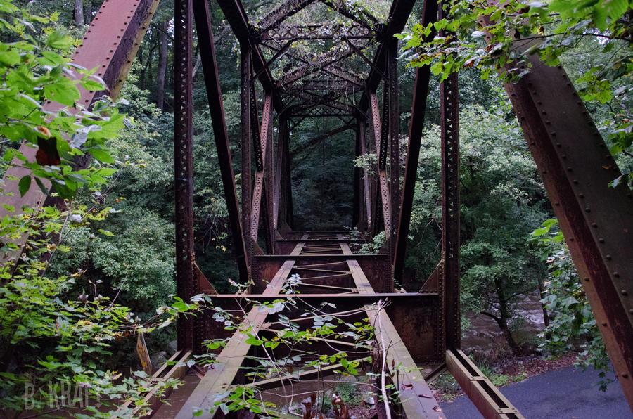 Lost Bridge by Motormenace