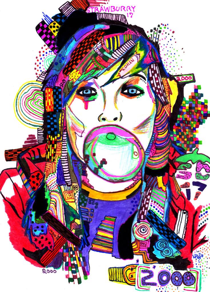 Bubbleburry by InkedAliveByColors