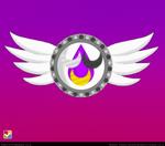 Nehelenia inspired brooch