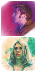 Doctor Who in Technicolor by siniart