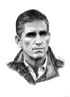 John Reese (Person of Interest) by siniart