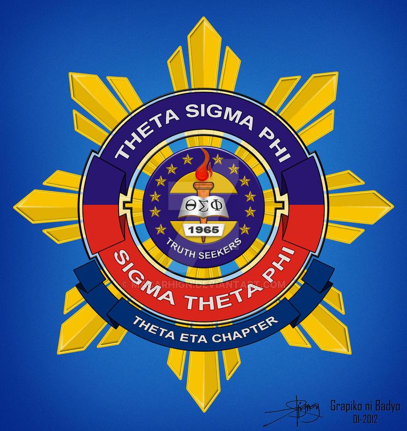 Theta Sigma Phi logo by macarhign