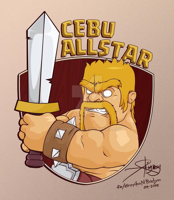 Clash of Clans: CEBU ALLSTAR by macarhign