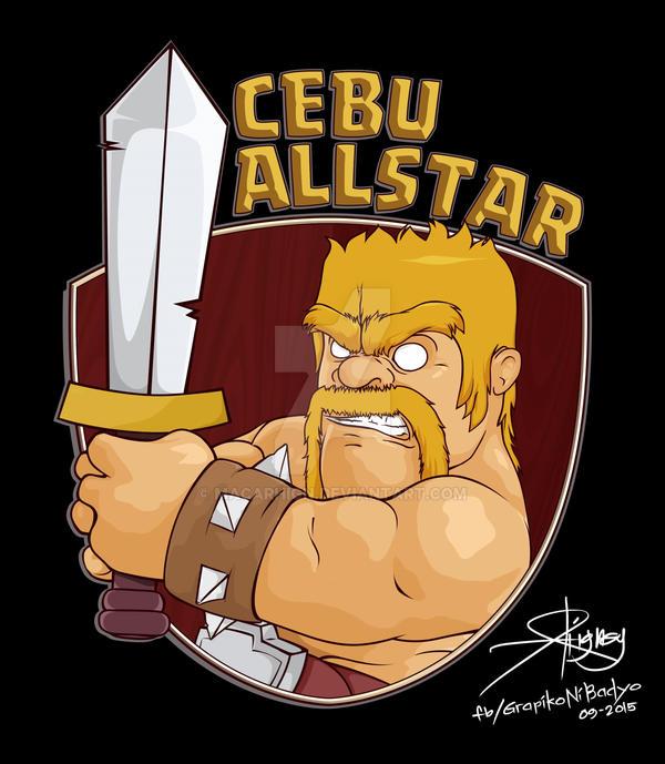 Clash of Clans: CEBU ALLSTAR - HOODIE LOGO by macarhign