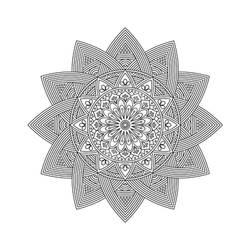 Mandala / Sacred Geometry Art-10