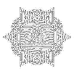 Mandala / Sacred Geometry Art-09