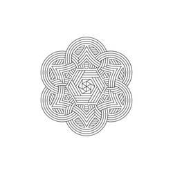 Mandala / Sacred Geometry Art-08