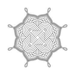 Mandala / Sacred Geometry Art-06