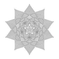 Mandala / Sacred Geometry Art-05
