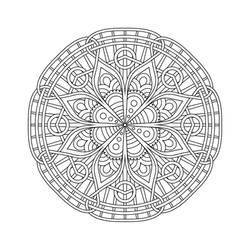Mandala / Sacred Geometry Art-04