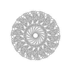 Mandala / Sacred Geometry Art-03