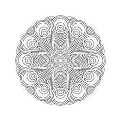 Mandala / Sacred Geometry Art-02