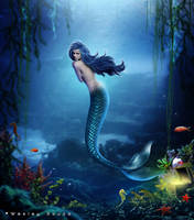 The World of a Mermaid by Wesley-Souza