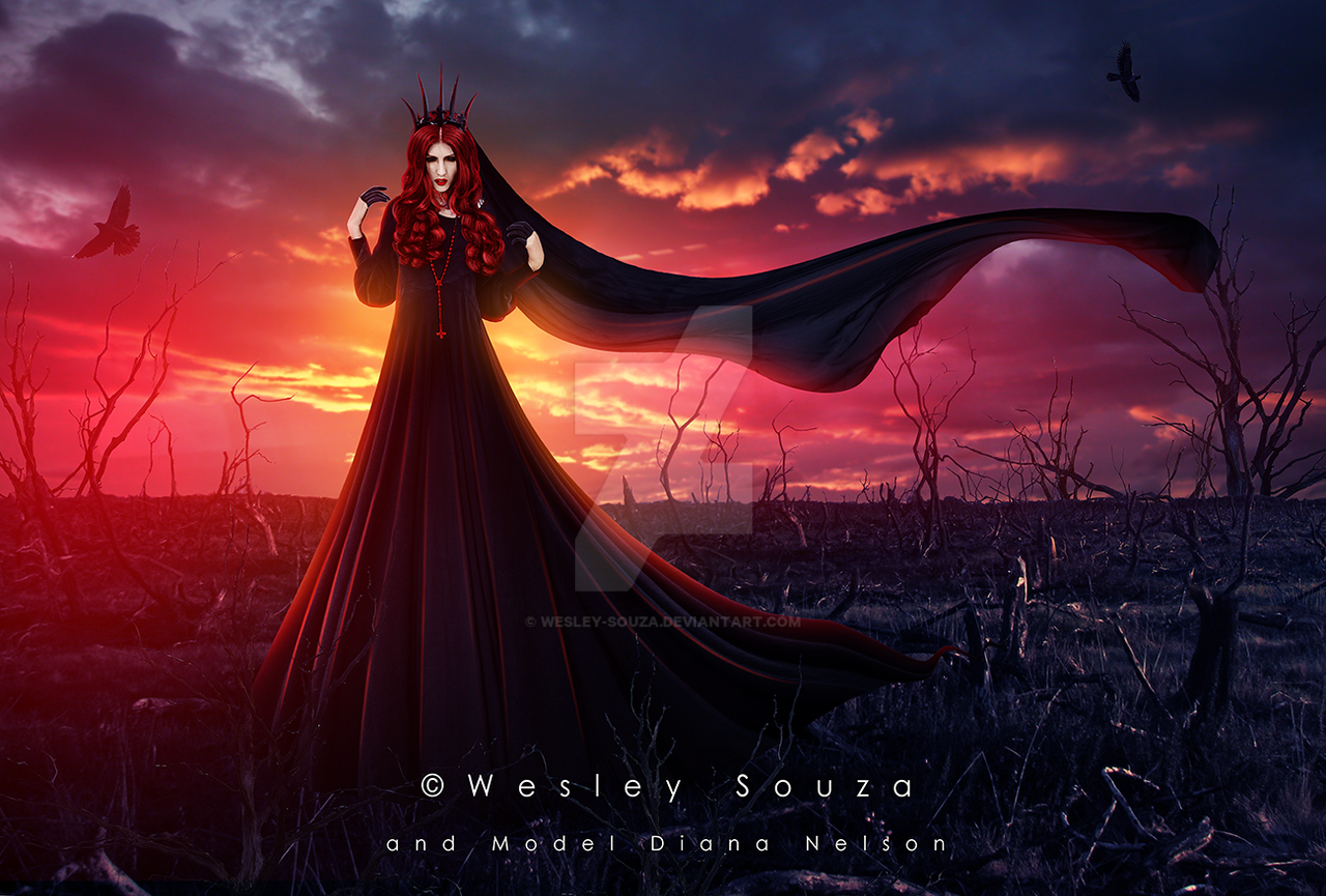 The Goddess Of Darkness By Wesley Souza On Deviantart