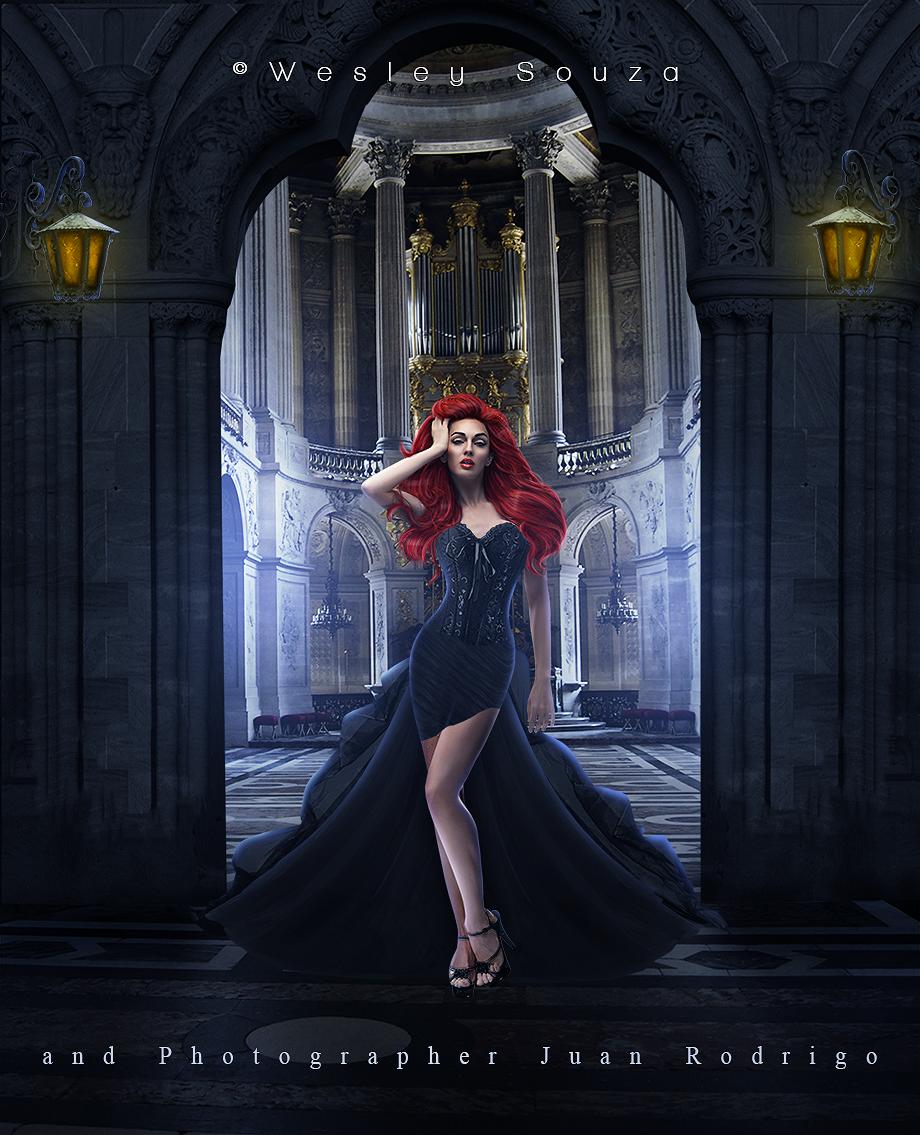 La Dama by Wesley-Souza
