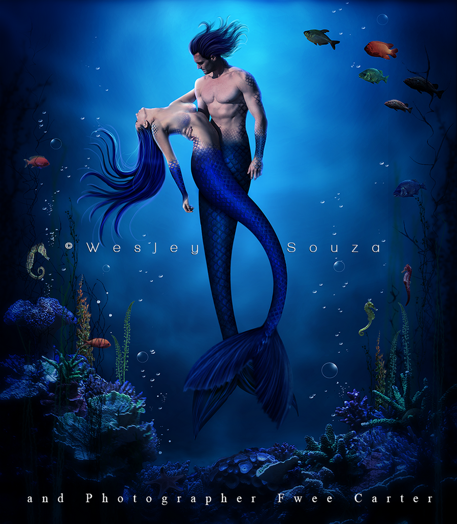 The Love of Mermaids by Wesley-Souza on DeviantArt