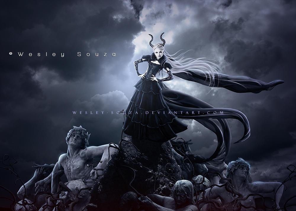 Demon Queen by Wesley-Souza
