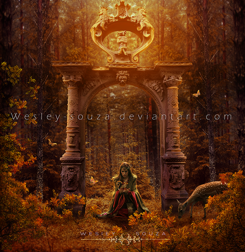 The Portal Autumn by Wesley-Souza