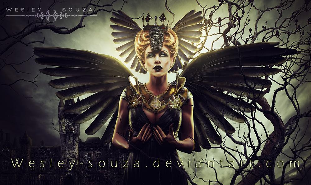 The Queen of Darkness by Wesley-Souza