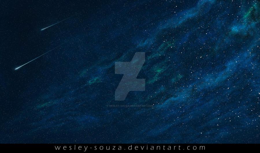 Space Nebula Premade Stock