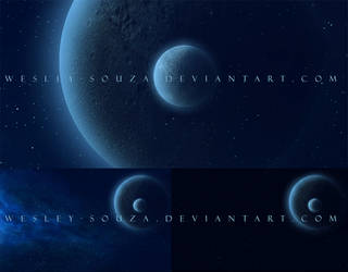 Space Premade Backgrounds by Wesley-Souza